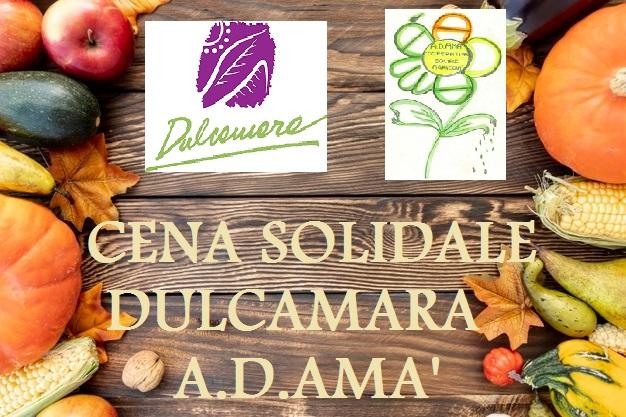 CENA SOLIDALE DULCAMARA A.D.AMA'