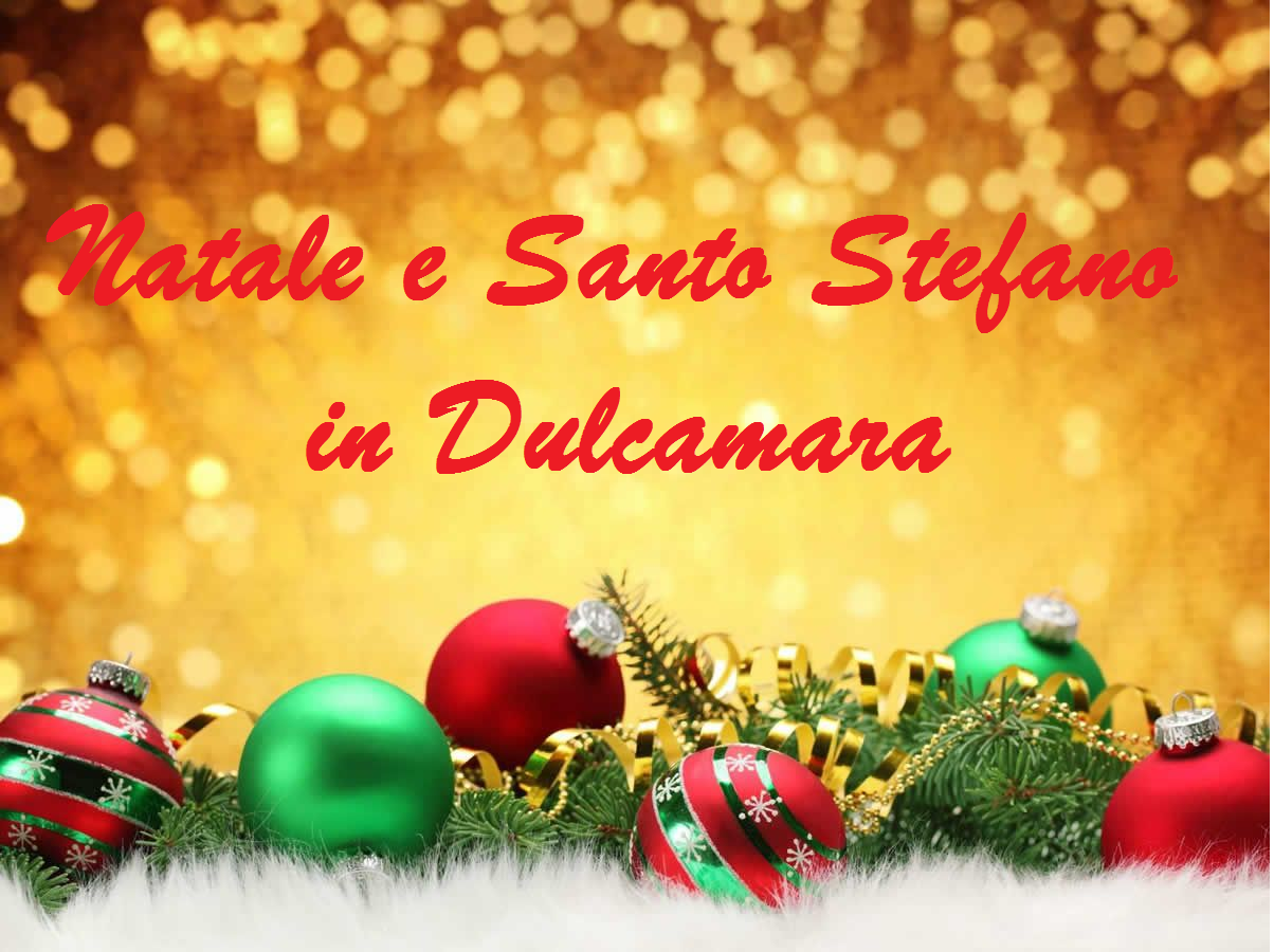 25-26 Dicembre 2020  NATALE E SANTO STEFANO IN DULCAMARA